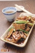Stir-Fry Pork Belly Slices with Ginger and Spring Onion Recipe 姜葱回锅腩食谱