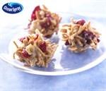 No-Bake Craisins® Dried Cranberries Crunch Clusters Recipe 免烤爽脆蔓越莓干饼食谱