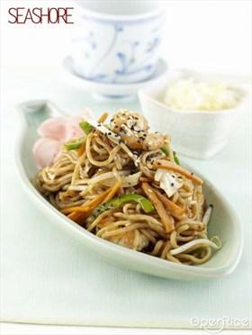 Japanese Fried Noodles Recipe 日式炒面食谱