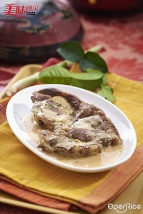 Mongolian Lamb Chop Recipe 蒙古羊扒食谱