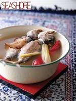 Kong Asam Hu (Tamarind Fish Soup) Recipe 亚叁鱼汤食谱