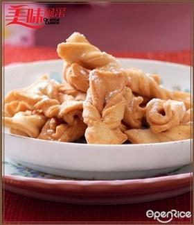 Twinbow Bicuits Recipe 蝴蝶结饼食谱