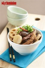 Braised Chicken Feet With Lotus Root Recipe 凤爪烩莲藕食谱