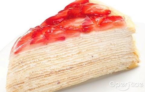 千层蛋糕, nadeje, mille crepe, crepe cake, klang valley, pj