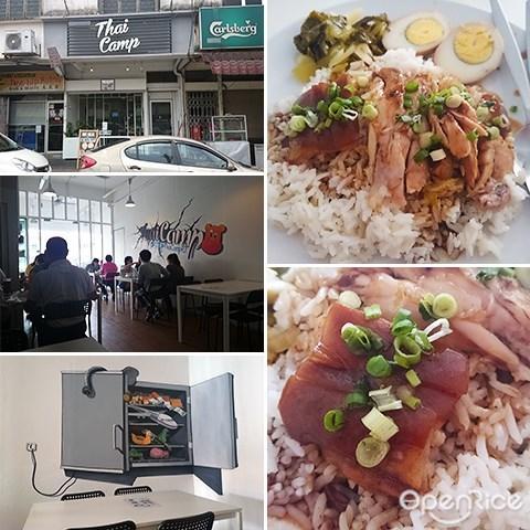 Thai Camp, Thai Food, Stewed Pork Leg Rice, Som Tam, Taman Paramount, PJ