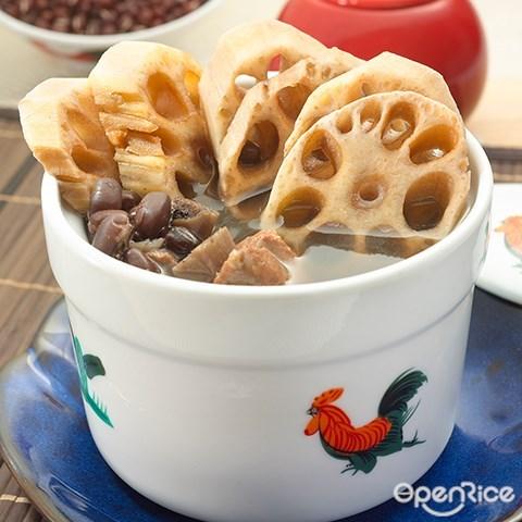 Ong Lai,猪肉粉,猪肉沙爹,传统咖啡