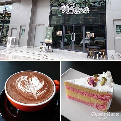 Ground Eaterie, Kai Dan Zai waffle, ice cream, cakes, Puchong PFCC, Puchong, Bandar Puteri, KL