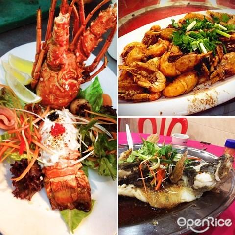 怡保, 海鲜, ipoh, seafood