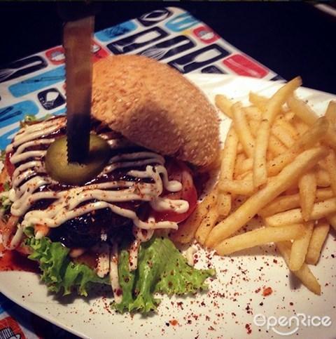 Yazid Burger, Biggest burger, Big Burger, KL, Sabah, Penang