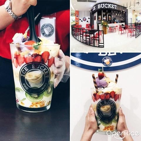 ice bucket, XXL冰沙, 甜品, dessert