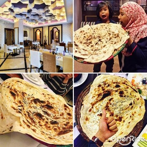 XXL roti canai, publika, mulauwah, arab food, kl