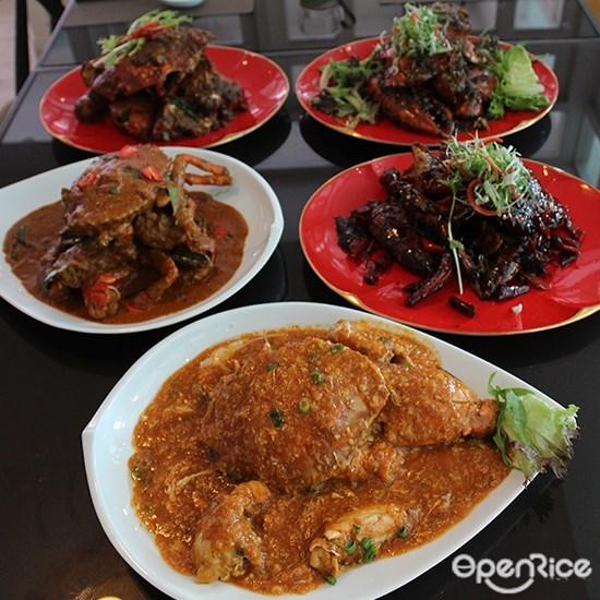 Episode Restaurant, Publika, Live Crab dishes, Crabs, Solaris Dutamas, KL