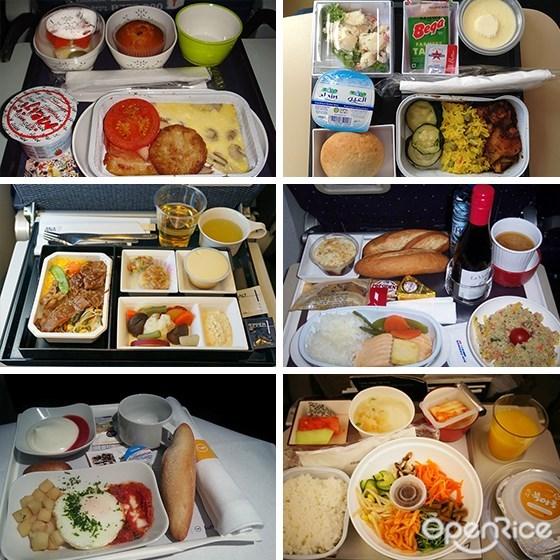 飞机餐,国泰航空,阿提哈德航空,韩亚航空,土耳其航空,泰国国际航空,新加坡航空,全日空,长荣航空,法国航空,德国汉莎航空