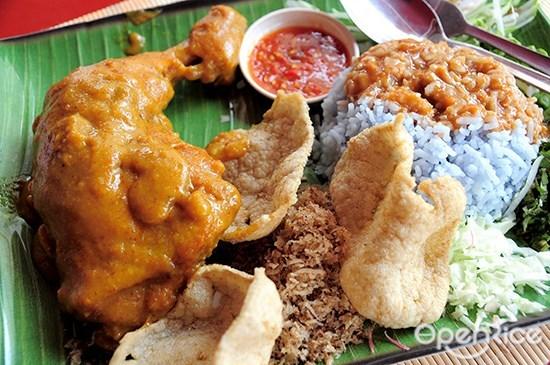 Nasi Kerabu, Ayam Percik, 马来食物