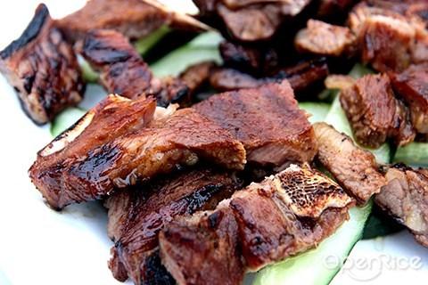 kuchai lama, cao cao, grilled lamb, wisma fga