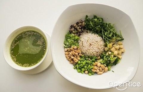 EcoGreen, 客家擂茶, 有机餐馆,素食