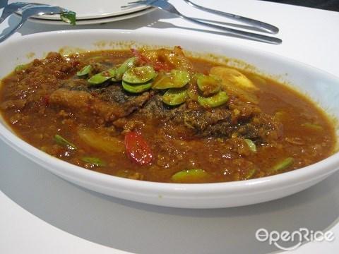 Organic Recipe, 叁巴臭豆斋鱼卷, 有机餐馆,素食