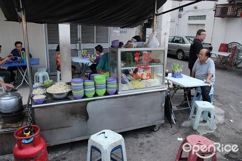 Pudu Fish Ball Noodle, Road side stall, Pudu, Jalan Pasar