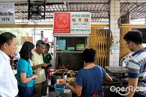 ss14, Glenmarie Shah Alam, 林炸鸡, 王信记, 椰浆饭