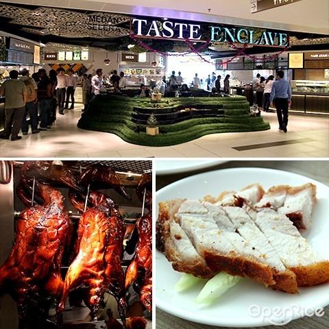 taste enclave, food court, avenue k, kl