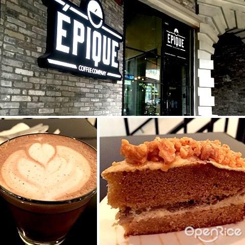 epique, 咖啡馆, empire damansara, pj, damansara perdana