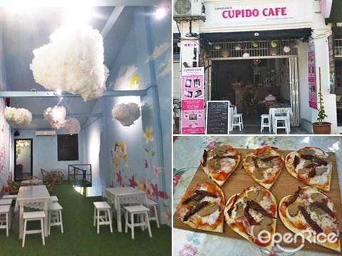 Cupido Cafe, 丘比特, 主题咖啡馆, 槟城