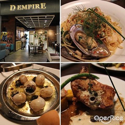 D'Empire Art of Cuisine, Main Place Subang, 意大利餐, 雪隆区