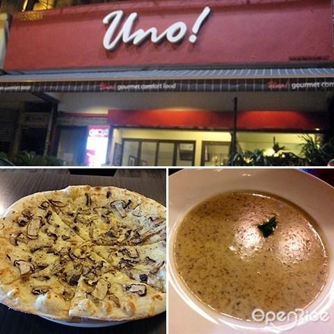 Pizza Uno, TTDI, 意大利餐, 雪隆区