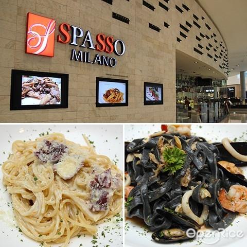 Spasso Milano, Pavilion KL, Bukit Bintang, 意大利餐, 雪隆区