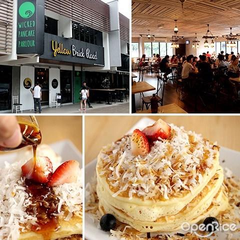 wicked pancake parlour, jalan batai, dessert, yellow brick road