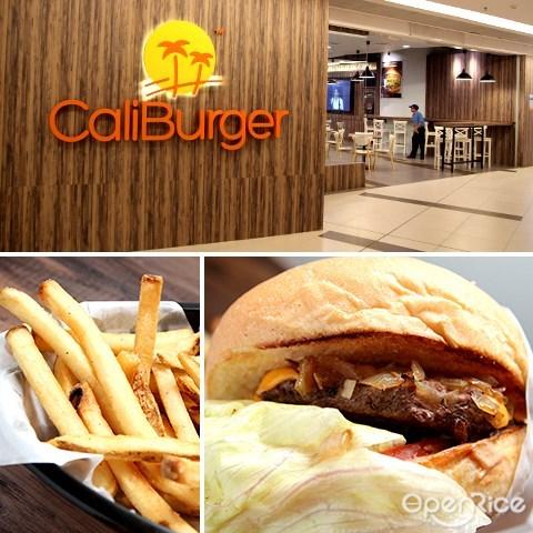 caliburger, burger, avenue k, 汉堡