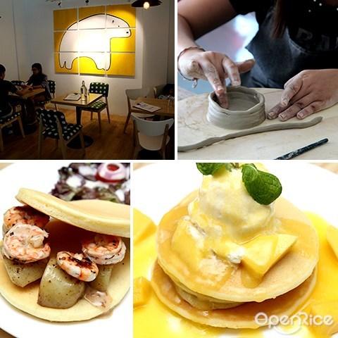 熊の陶工房, connaught avenue, cheras, beary potter, pottery class, 陶艺课, 松饼
