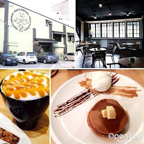maco vintage, 柔佛, 新山, 咖啡馆