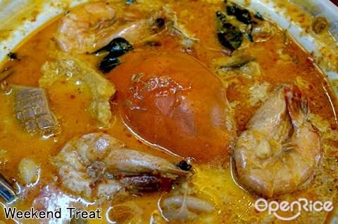 文良港, curry crab