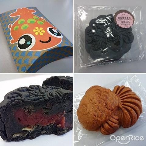 Tea Mooncakes, Oolong Tea, Pu Er Tea, Rose Tea Mooncake,Mid Autumn, Mooncake